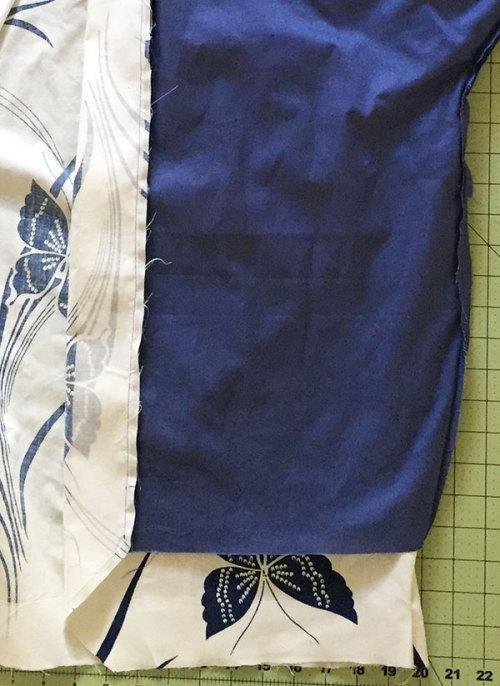 Sapporo Coat - lining detail - C Sews