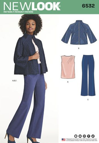 New Look 6532 - separates
