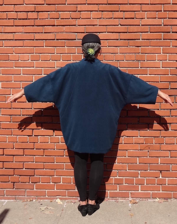 Papercut Patterns - Sapporo Coat - back view - CSews