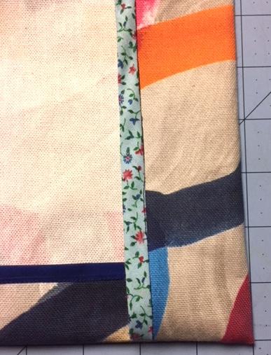 Bias tape binding for Pilvi Coat - Lotta Jansdotter Everyday Style