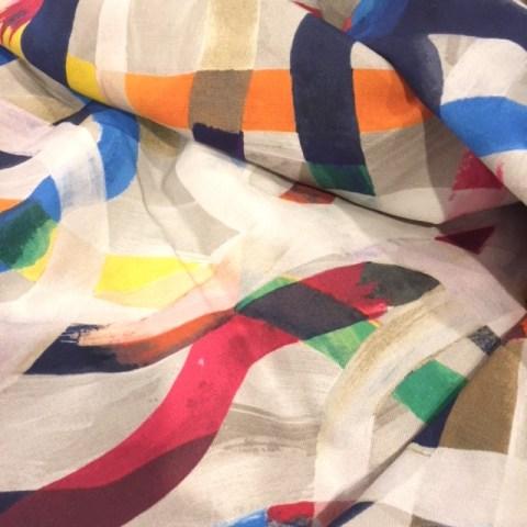 Beautiful fabric from Britex Fabrics
