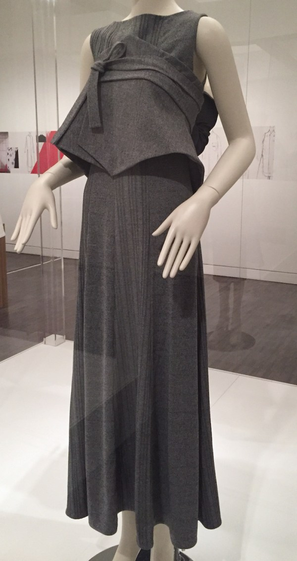 Jung Misun - wool blend knit dress - Couture Korea exhibit at Asian Art Museum