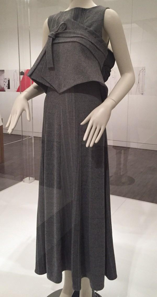 Jung Misun - wool blend knit dress - Couture Korea exhibit at Asian Art Museum