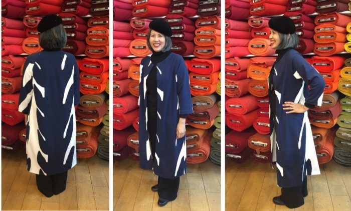 Pilvi Coat in ponte knit – my 4th version of this pattern
