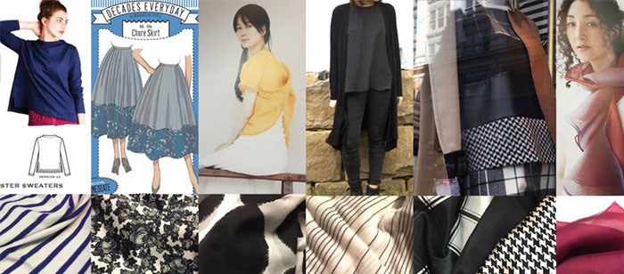 Make Nine 2018 – tops, skirts and jackets for the new year