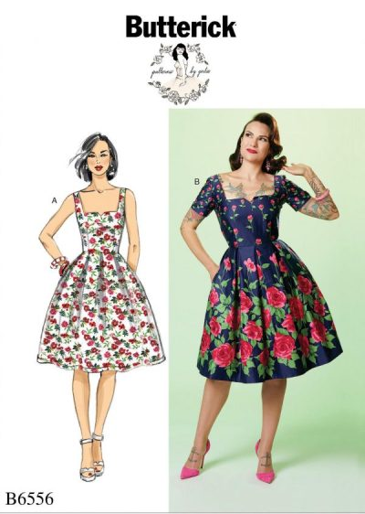 Big Four 2018 Spring Patterns - Butterick B6556 - Patterns by Gertie - CSews.com