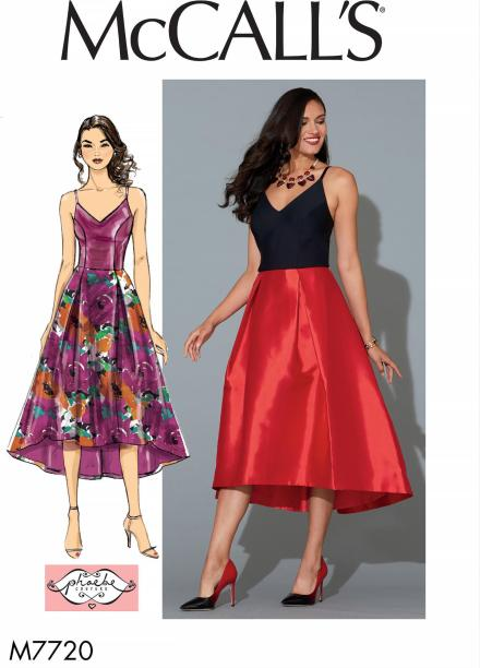 Big Four 2018 Spring Patterns - McCall's M7720 - Phoebe Couture dress pattern - CSews.com