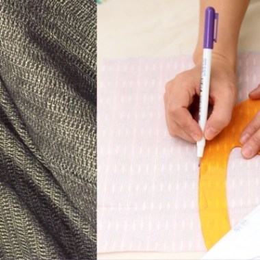 Pattern alternations and fusible interfacing - Ryliss Bod of Sewing and Design School - photo - CSews.com