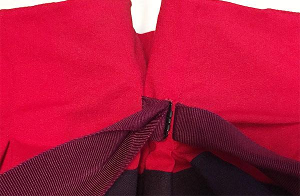 Skirt hook and eye attached at waist - CSews.com