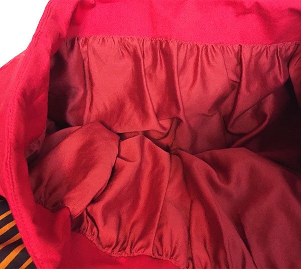 Inside view of skirt facing and lining  - CSews.com