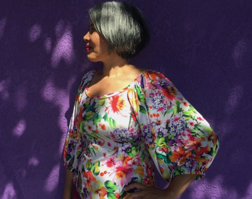 Adrienne Blouse - Friday Pattern Company