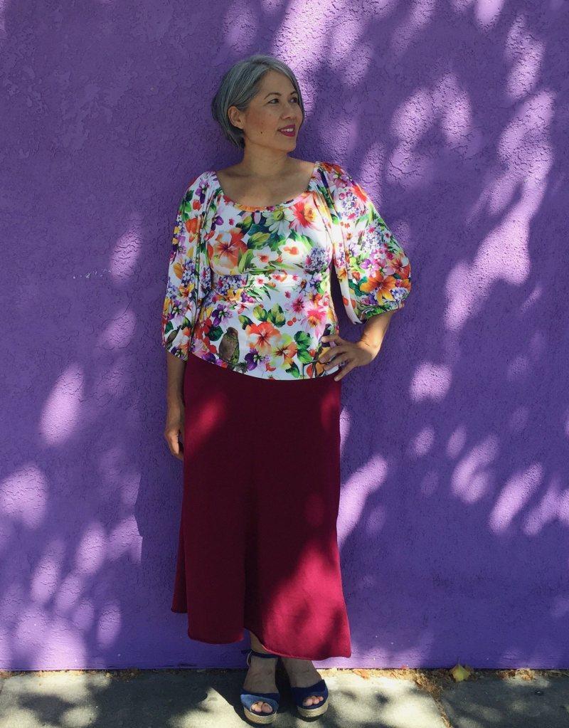 Adrienne Blouse - Friday Pattern Company - CSews.com