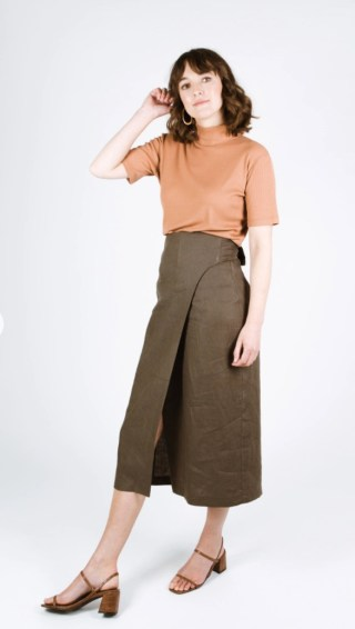 Aura Skirt - a pattern I'll be sewing for the Whole 30 Fabric Challenge