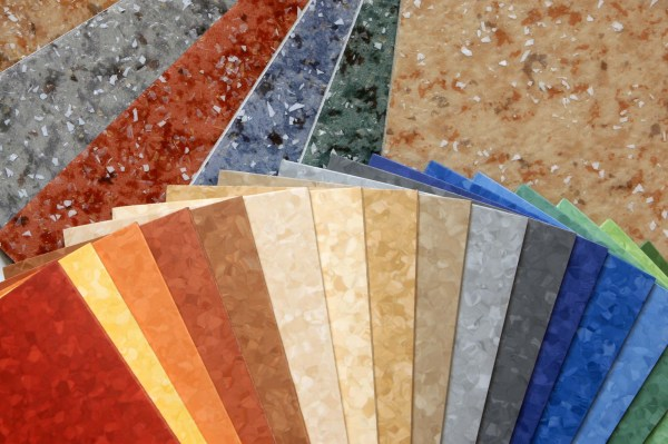 Vinyl Linoleum Flooring Tiles