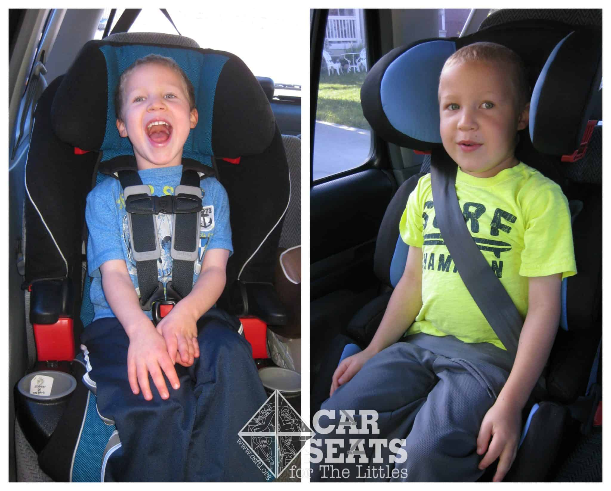 Harness or Booster when to make the switch  Car Seats
