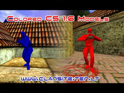 colored cs 1.6 models skins