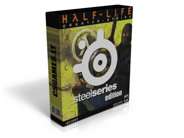 counter-strike 1. steelseries edition box