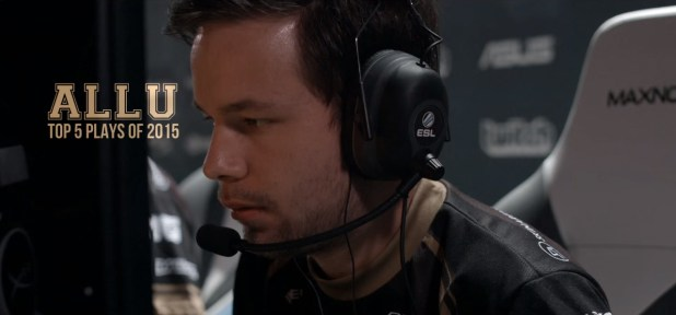 allu - Top 5 plays of 2015
