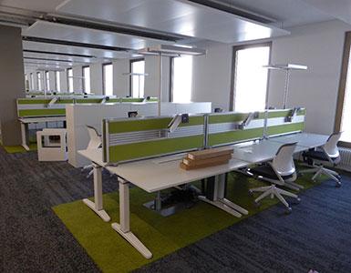 Bauleitung für Büroausbau im Stücki Basel