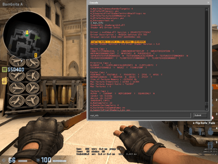 CS:GO Tips: Simple Command to Find Out What Monitor Hertz You Are