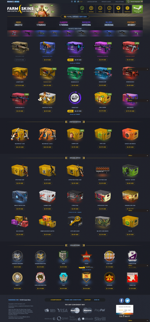 csgo case opening website