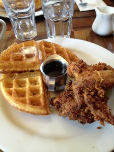 Chicken & Waffles!
