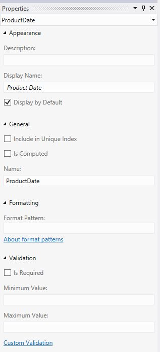 Formatting Date in LightSwitch Visual Studio 2012