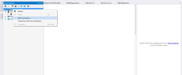 WCF Service to Insert and Retrieve Data From SQL Server