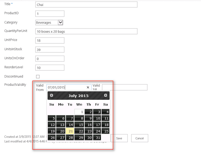 SharePoint 2013: How to Render Single Line of Text as Date