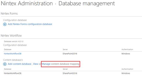 Integrating Nintex Workflow 2016 With Sharepoint Server 2016