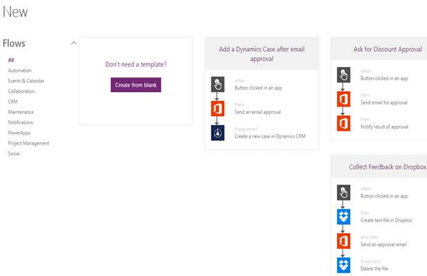 Introducing Flow In Microsoft Power Apps In Office 365