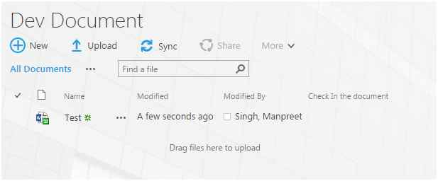 Check-Out Item In SharePoint 2013 And Office 365 Using