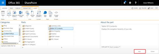 how to add to table of contents in word manually