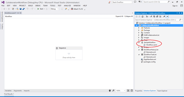 Add The Workflow In a SharePoint Hosted App