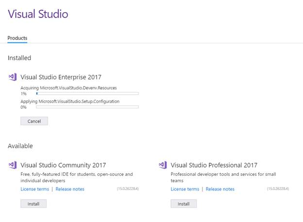 Installation Of Visual Studio 2017, A Firsthand Explanation – Nilesh