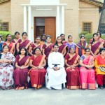 Women's Fellowship Members with Rev. C. C. Sabu