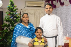Rev. Sabu C. Chacko and Family