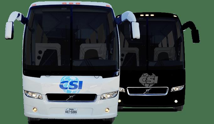 Charter Bus Rentals Services Houston Austin Dallas