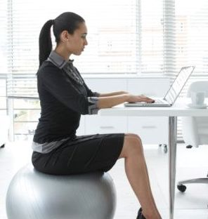 ergonomic chair exercise ball cover sash ties workplace ergonomics blog office csi while it s true that sitting on an unstable activates your core muscles more than a static hardly enough to develop six pack