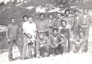 Az 1978-as válogatott - Edzőtáborban Brassó Pojánán