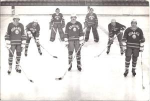 Az 1981-es válogatott első sora