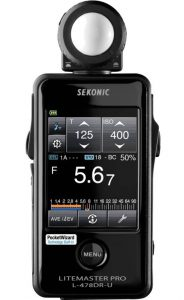 Sekonic 401 477 Light Meter Eksternal