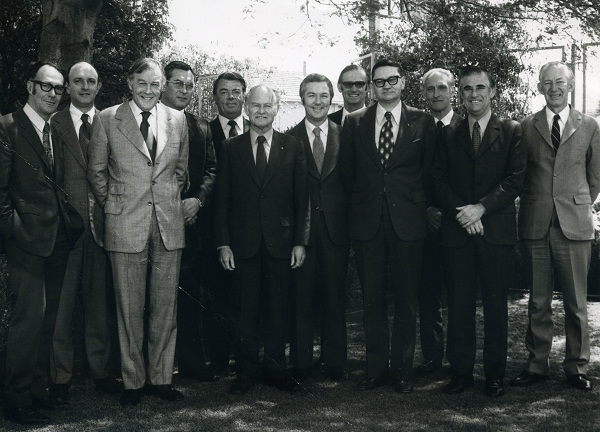International Wool Secretariat visit to CSIRO in November 1973