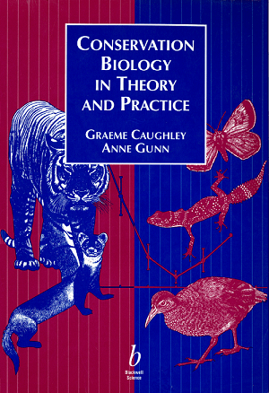 Cover of the 459 page monograph _Conservation Biology in Theory and Practice_