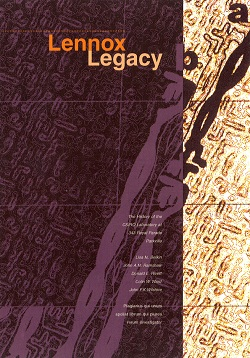 Front cover for _The Lennox Legacy_