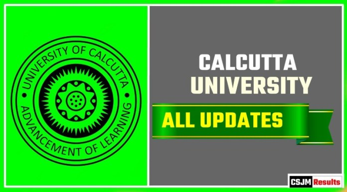 Calcutta University Result Time Table Admit Card Admission