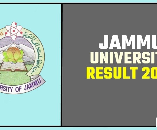 Jammu University BA BSC BCOM Result 2019