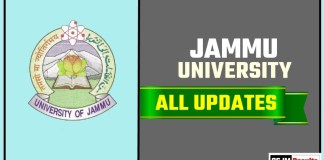 Jammu University Result Time Table Admit Card Admission