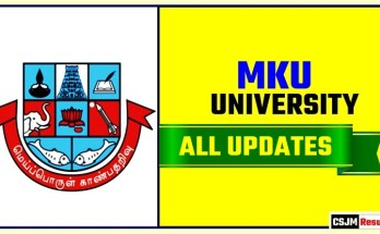 MKU Result Time Table Admit Card Admission