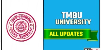 TMBU Bhagalpur University Result Time Table Admit Card Admission